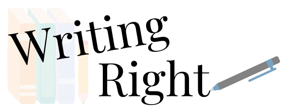 Writing Right Podcast Logo